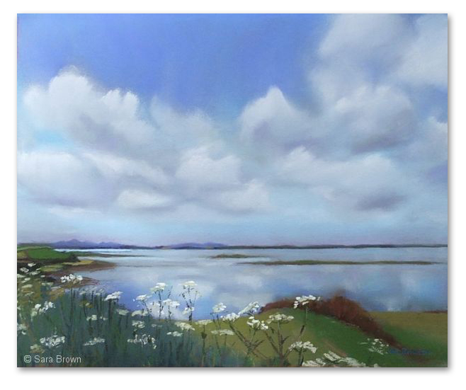 Lough Cuan, by Sara Brown