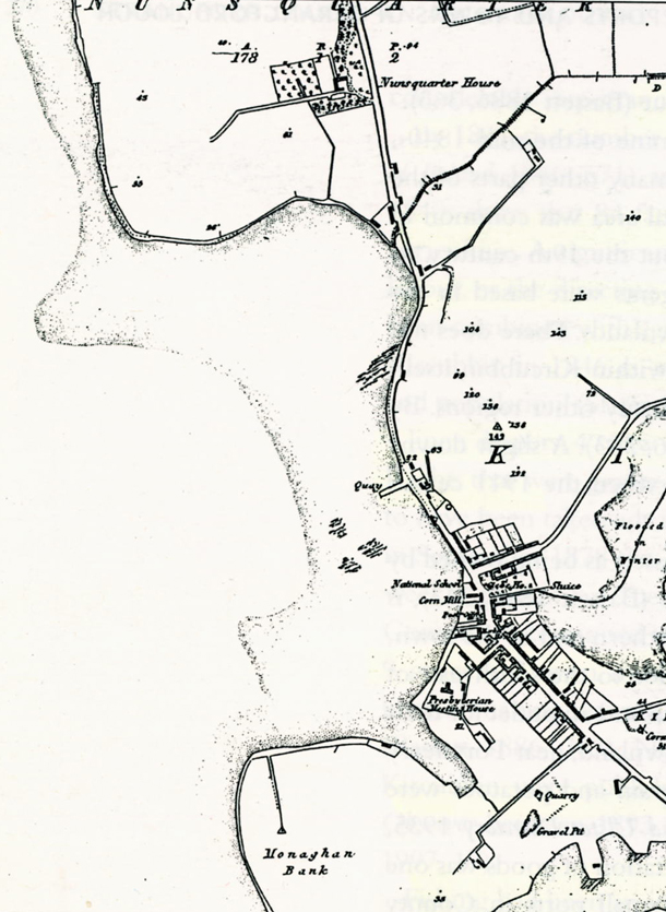 Kircubbin map 1834