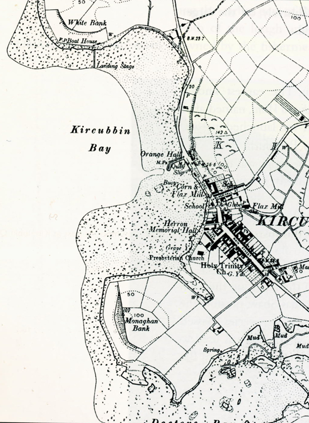 Kircubbin map 1920